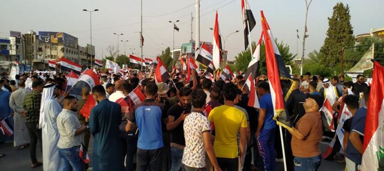 عرب كركوك يتظاهرون احتجاجا على اتفاق الحزبين الكورديين ترشيح شخصية لمنصب المحافظ