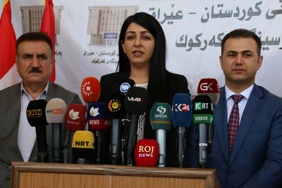 پەرلەمانی كوردستان: لە كەركوك پێشێلكاری زۆر دەكرێت