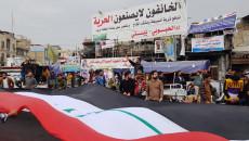 """""""وعد ترجع الثورة"""".. شعار لتصعيد مرتقب لساحة اعتصام الناصرية"""