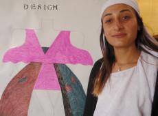 نرفين: أُصَمِّم الأزياء وأُؤَمِّن بنفسي مصاريف دراستي