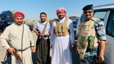 100 tribe men trained by PMF and stationed in Arab villages in Daquq