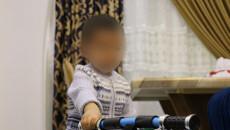 3 yaşında Usame; bir otelde yalnız ayrıldı
