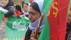 People of Sinjar demonstrate against Turkish airstrikes