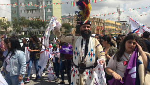 Assyrians in Duhok celebrate Akito Day which marks the Assyrian New Year