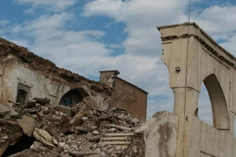 Türkiye Kerkük Kışlasını yeniden onarıyor