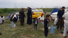 من النزوح الی النزوح<br> عشرات الاسر تترك المخیمات وتعود الی مناطقها الاصلیة في كركوك