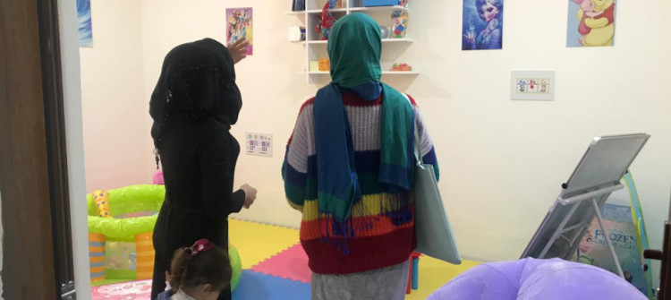 Newly-opened creativity center nurtures women's talents in Talafar