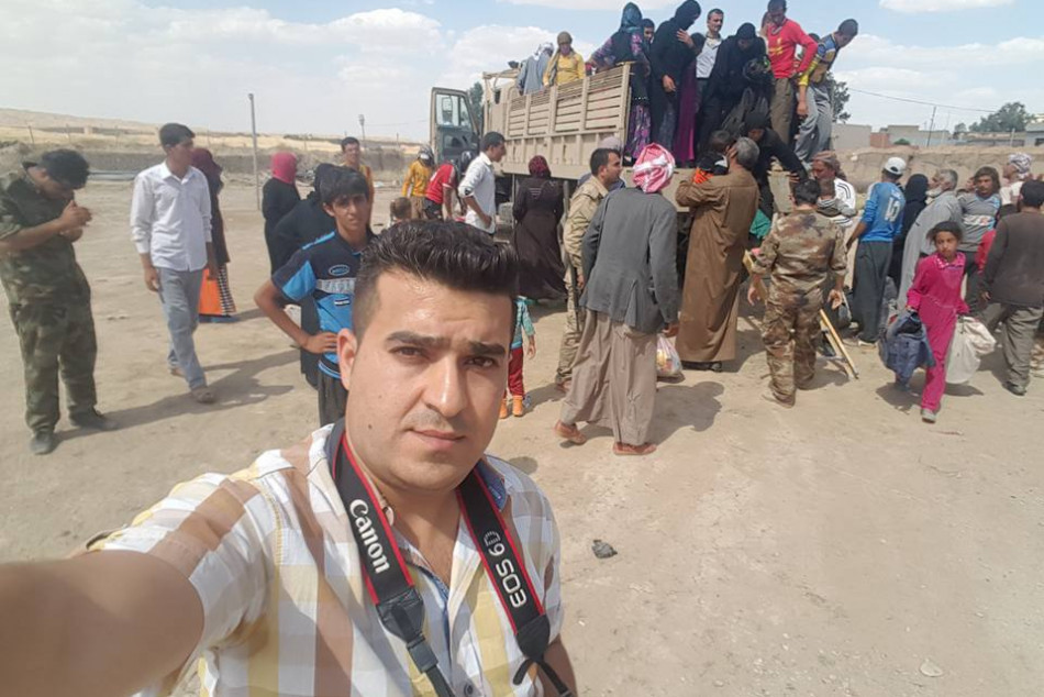 Iraqi journalists Syndicate denounces arrest of KirkukNow correspondent